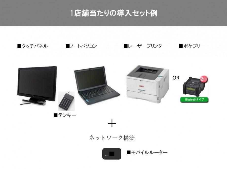 予約システム ハードセット例